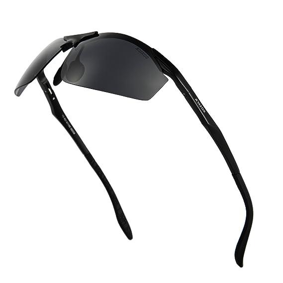 ee4c13d31f Men s Sunglassess For Large Heads UV400 Polarized Half Frame Sunglasses