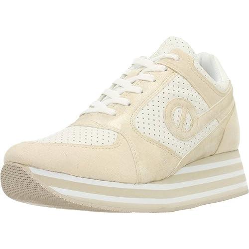 Calzado Deportivo para Mujer, Color Hueso, Marca NO Name, Modelo Calzado Deportivo para Mujer NO Name PARKO Jogger Hueso: Amazon.es: Zapatos y complementos