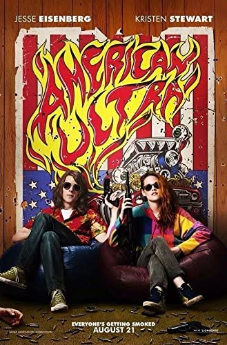 American Ultra Jessie Advance Original Movie Poster Double Sided 27x40