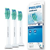 Philips 飞利浦 原装正品电动牙刷头 HX6013 标准型3支装 【适用型号HX6730/ HX6761/ HX3216/HX6711 HX6511/HX6972/ HX3226 】