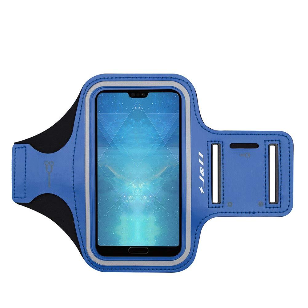 Conexi/ón Auriculares Mientras Ejercicios y Carreras - No para Huawei P20//P20 Lite Ranura para Llaves J/&D Compatible para Huawei P20 Pro//P30 Pro//P10 Plus Brazalete Deportivo para Correr
