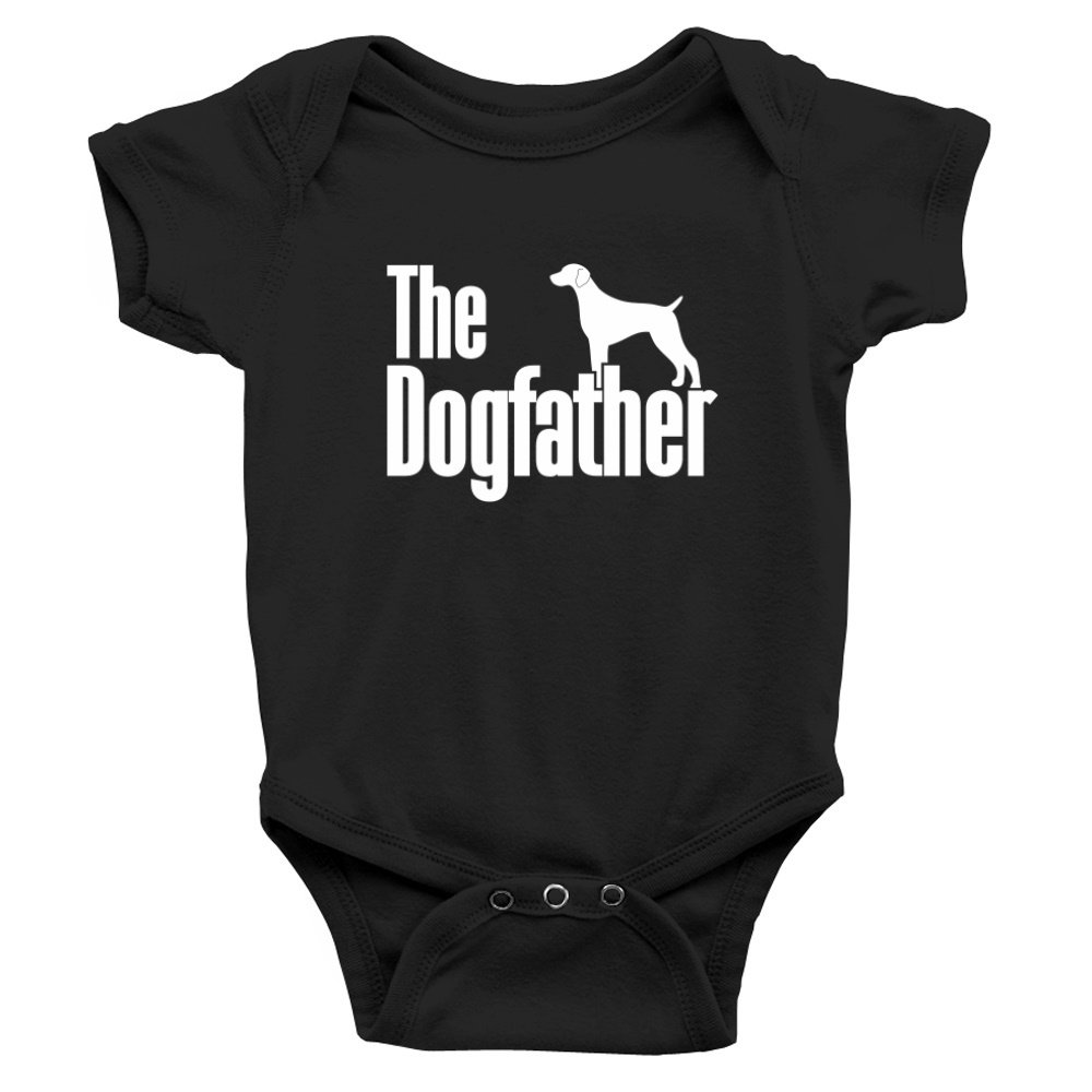 Teeburon The dogfather German Shorthaired Pointer Baby Bodysuit