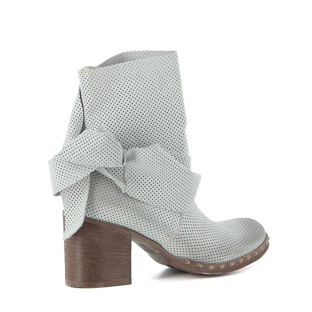 À Cuir Et Sacs Boots Erman's Chaussures En Nouer qSnYOYB5I