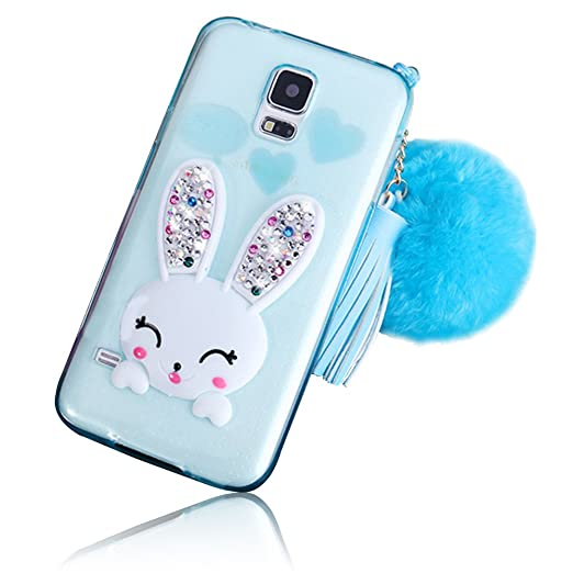 12 opinioni per Sunroyal® Samsung Galaxy S5 I9600 SM-G900F / S5 Neo G903 Cover 3D Lovely