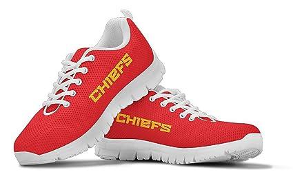 ebfb3b06 Amazon.com : Kansas City Chiefs Themed Casual Athletic Running Shoe ...