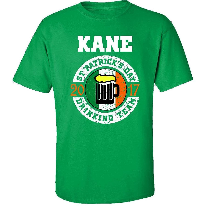 St Patricks Day Kane 2017 Drinking Team Irish - Adult Shirt