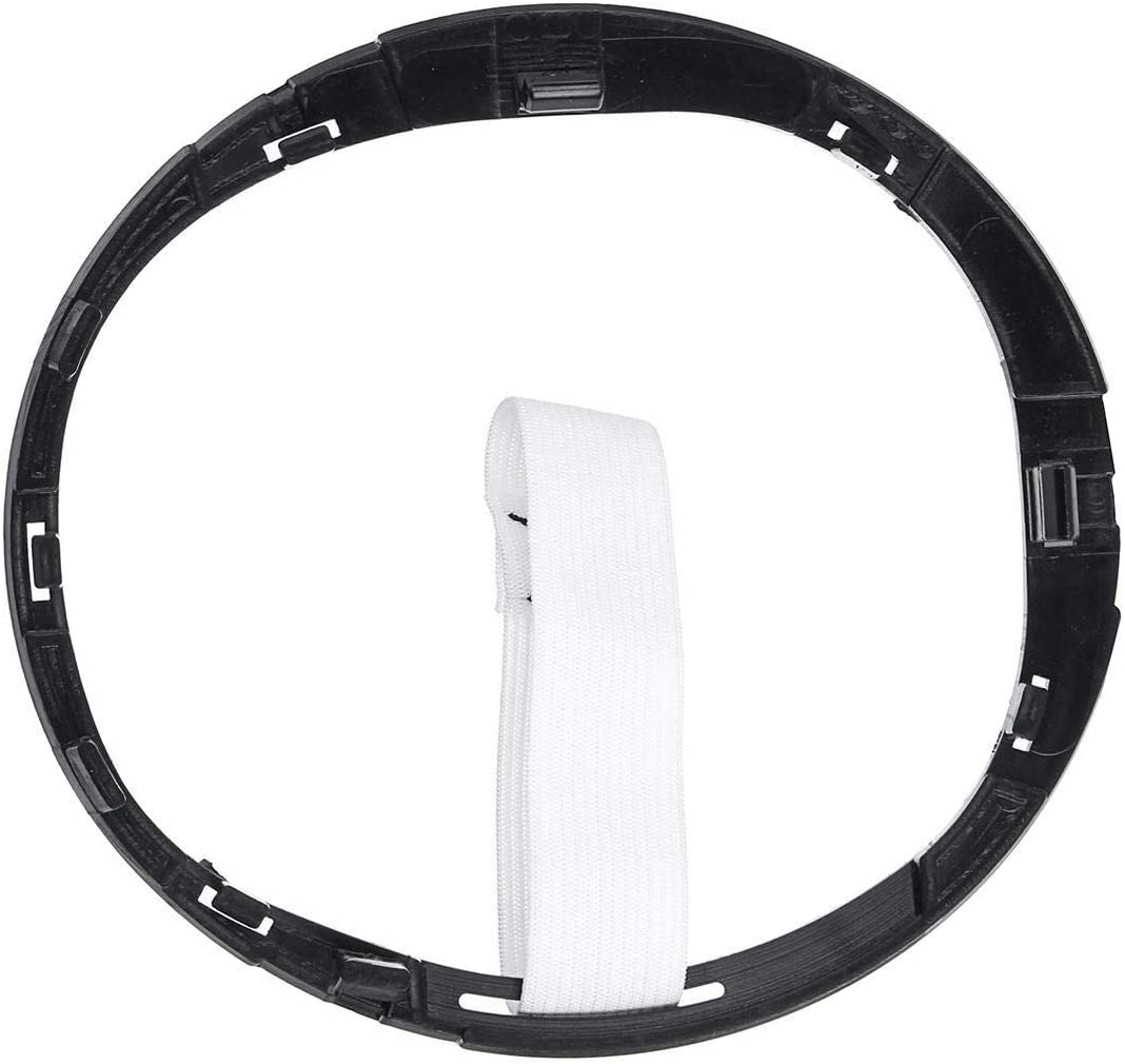 1pc Plastic Car Gear Gaiter Boot Cover Ring Gear Shift Knob Stick Lever Frame For Fiat 500 500c 2007-2015 No Logo LSB-shift knob Size : Black