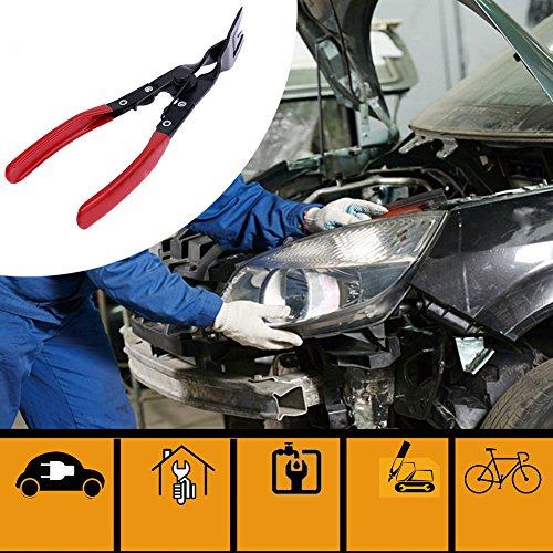 CUCU RANERN Car Clip Removal Plier Door Panel Trim Fastener Tool for Toyota Camry Honda Civic Golf 4 Mazda 3 Passat B6 Renault Chevrolet Red