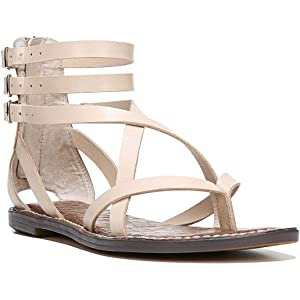 943cf68d811f Sam Edelman Womens Gallagher Split Toe Casual Ankle Strap Sandals