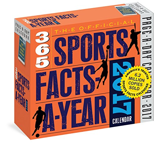 The Official 365 Sports Facts-A-Year Page-A-Day Calendar 2017