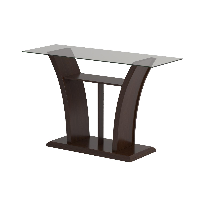 Amazon Furniture of America Veretta Sofa Table with 10mm