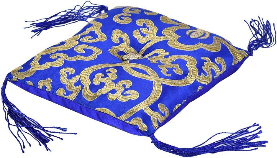 Coussin pour Bouddhisme Chant Bol Coussin Bouddhisme Tib/étain Main Oreiller Tapis /À La Main Artisanat D/écoration