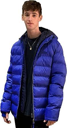 Tokyo Laundry Homme Borg Doublé Baseball Varsity Manteau Veste d/'hiver 1E9704