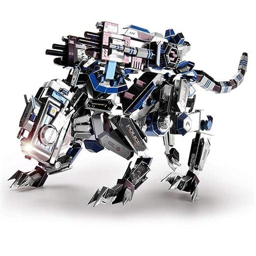 MQKZ La Batalla del líder: Perro mecánico de Metal ...