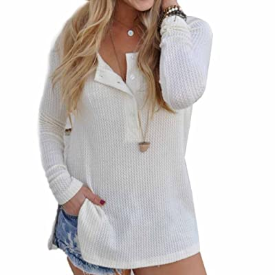 Usstore Women's Tops Jumper Sweater Ladies Casual Knitwear Blouse