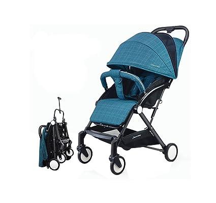 XnZLXS-Cochecitos Carretilla de Tijera Plegable Carro de los niños Portátil al Aire Libre Deportes