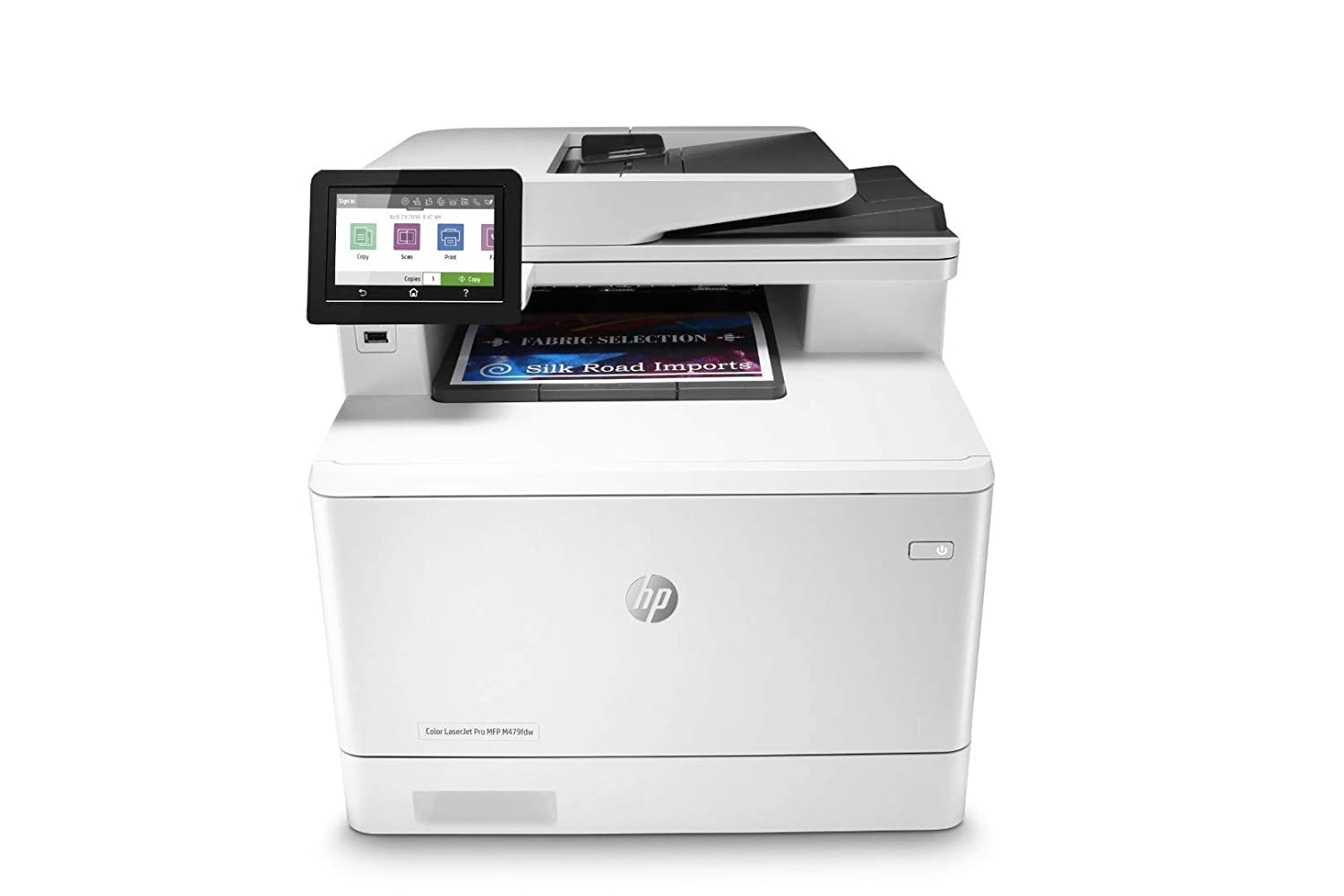 HP Color LaserJet Pro Multifunction M479fdw Wireless Laser Printer with One-Year W1A80A Onsite Warranty Renewed Next-Business Day