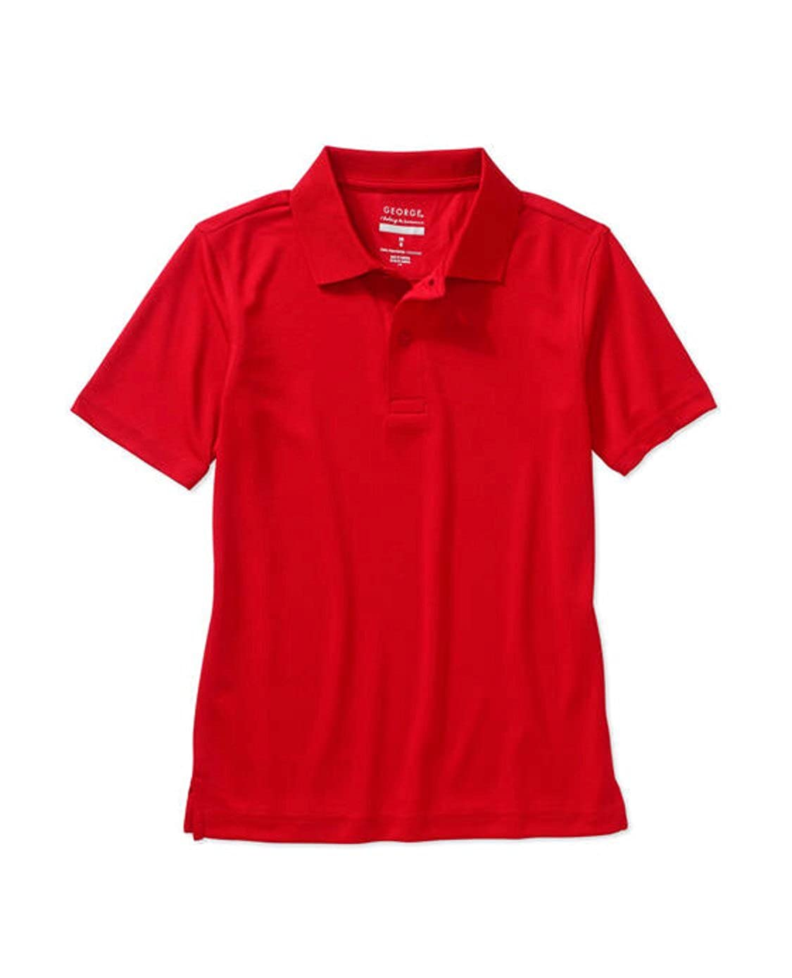 George Boys School Uniform - Short Sleeve Performance Polo Shirt
