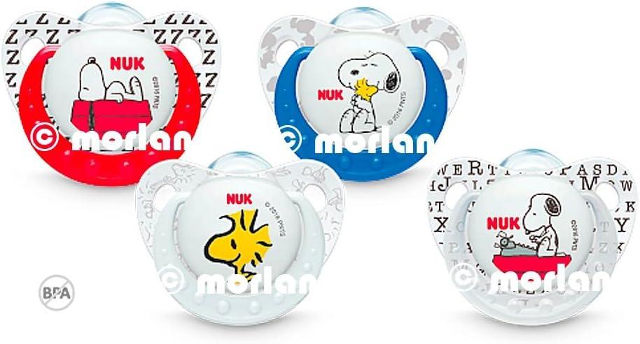 NUK - Pack Chupete Silicona Snoopy: Amazon.es: Salud y cuidado ...