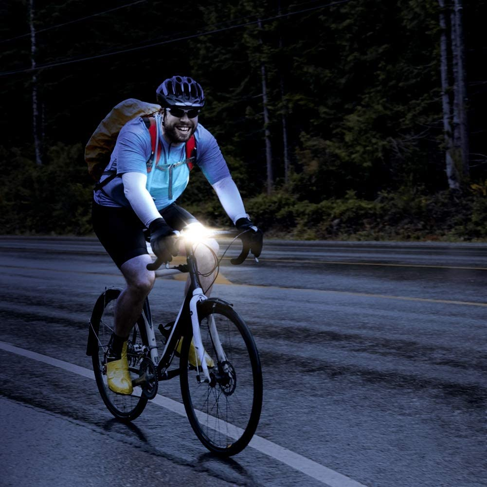 Lypulight luz Bicicleta, Luz Delantera de Bicicleta Recargable USB ...