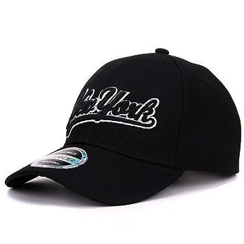 MAOZIJIE Gorras De Béisbol Negras De Nueva York Las Vegas Gorra ...