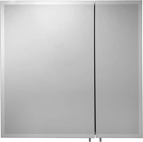Croydex WC102222AZ Shawdon Double Door Bi-View Cabinet, 30-Inch x 30-Inch, White