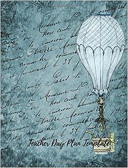 Teacher Day Plan Template Undated Lesson Plan Book For Teachers 40