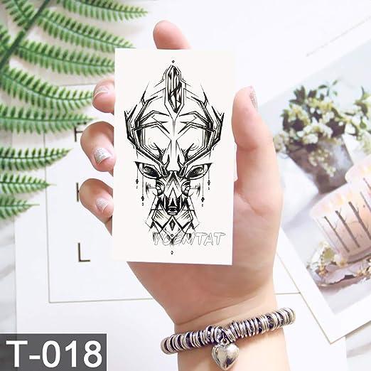 tzxdbh 5pcs-libélula patrón Clave Tatuaje Tatuaje Temporal ...