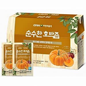 [Gnm Dignity of Nature] Pure Organic Pumpkin Juice / pumpkin over juice / Korean / health juice / pumpkin over juice / non-sweetened juice