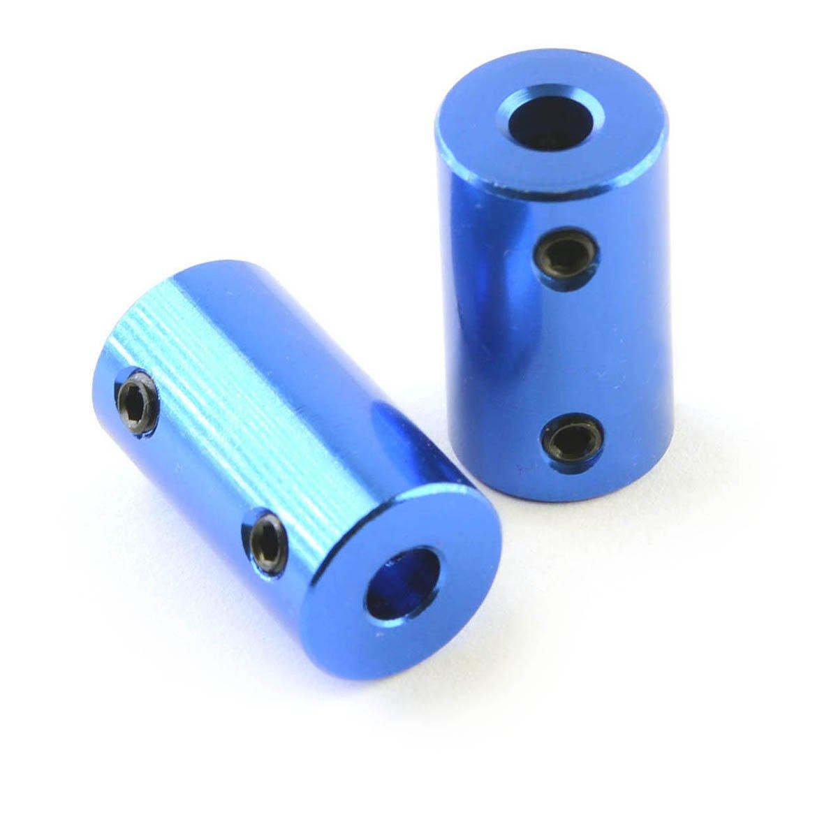 2 PCS x Rigid Shaft Coupler 5mm To 8mm for CNC Routers Reprap  Prusa 3D printers