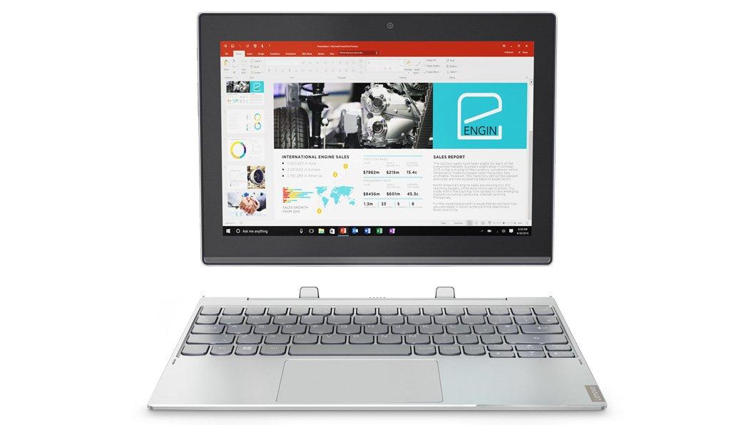 Lenovo - miix 320 Intel Atom x5-z8350/4gb/128gb/10.1 w10 Pro Tã¡Ctil: Lenovo: Amazon.es: Electrónica
