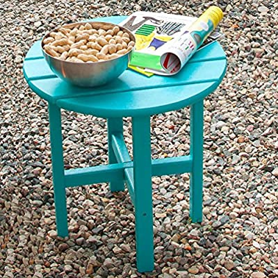 POLYWOOD Round Side Table