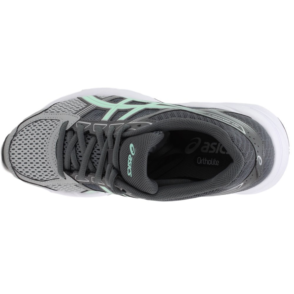ASICS Women's Gel-Contend US|Mid 4 Running Shoe B077H2DMB9 12 D US|Mid Gel-Contend Grey/Glacier Sea/Silver 871d30