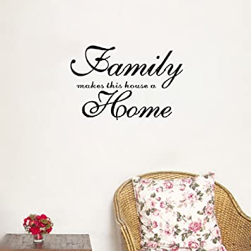 Amazon Com Removeable Wall Sticker Home Art Quotes Home Garden