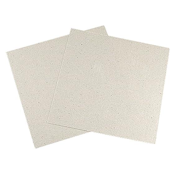 Reemplazo de Horno microondas - SODIAL(R) 2 * Reemplazo 12 x 12cm Placas de mica para Horno microondas: Amazon.es
