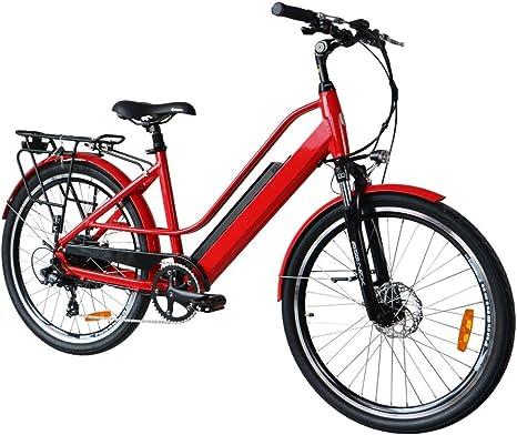EUNORAU City Bicicletas eléctricas para Adultos y Bicicleta ...