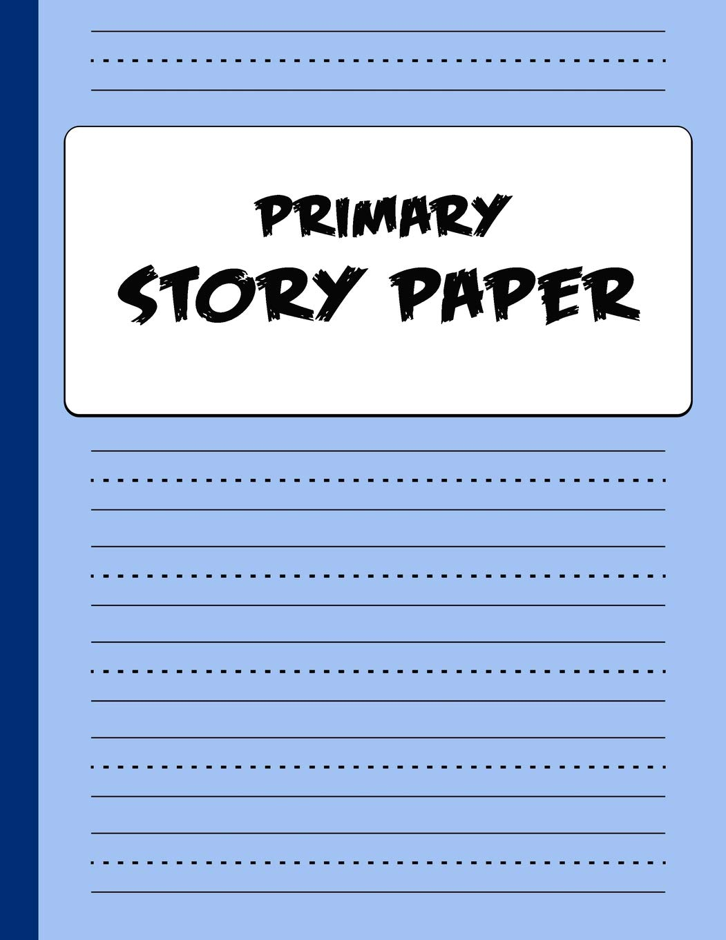 Primary Story Paper Draw Write Composition Book For Kids