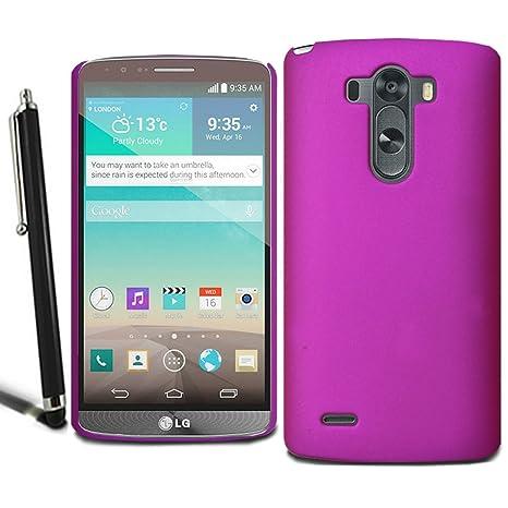 Carcasa rígida y fina para LG G4, incluye protector de ...
