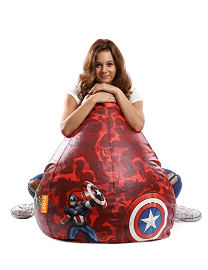 Orka DSNM6002_BB_XXL Marvel Avengers Digital Printed XXL Bean Bag Without Beans (Multicolor)  sc 1 st  Amazon.in & Orka DSNM6002_BB_XXL Marvel Avengers Digital Printed XXL Bean Bag ...