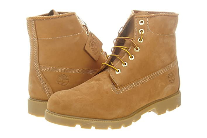 6 Inch Basic Boot Mens10066 Style: 10066-WHEAT Size: 11.5 M US