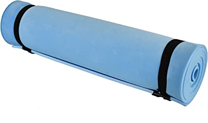 SINGLE CAMPING MATTRESS YOGA EXERCISE MAT FOAM PAD TRAVEL OR FESTIVAL USE