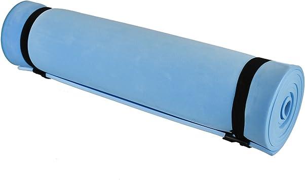ASAB - esterilla de dormir con aislamiento de espuma para camping, senderismo, viajes, yoga, pilates, gimnasio, ejercicio abdominal, fitness, ...