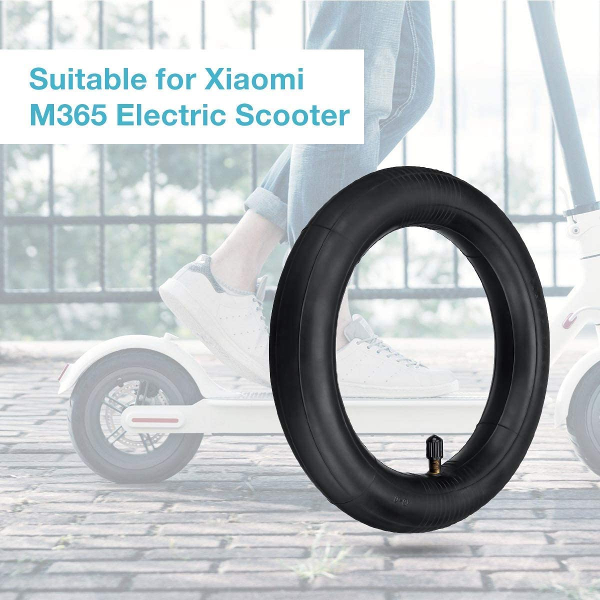 Solid Electric Scooter Wheels//Explosion Gotrax GXL v2,Swagtro Scooter Fit All 8.5 inch Electric Scooter Wheels Replacement Kutrick Electric Scooter Solid Tire Replacement for XiaoMi Mijia M365