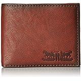 Levi's Men's Two Horses Passcase Wallet, Brown, One Size