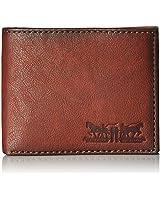 Levi's  Men's  Passcase Wallet,Brown