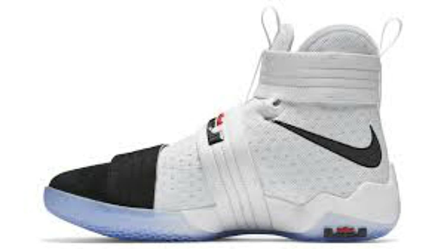 1af7bec7d4ff Amazon.com  Nike Zoom LeBron Soldier 10 Black Toe 844378-102  Shoes