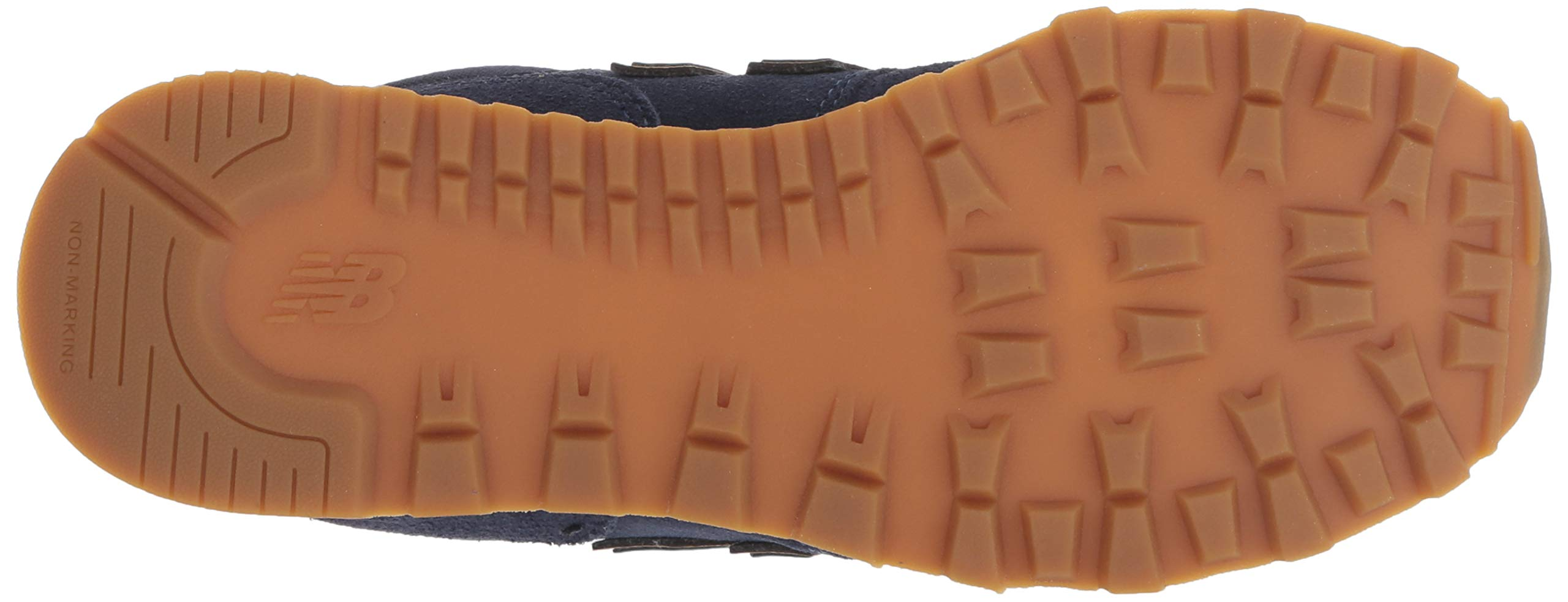 New Balance Boys' Iconic 574 Sneaker Pigment/Cadet 10 M US Toddler by New Balance (Image #3)