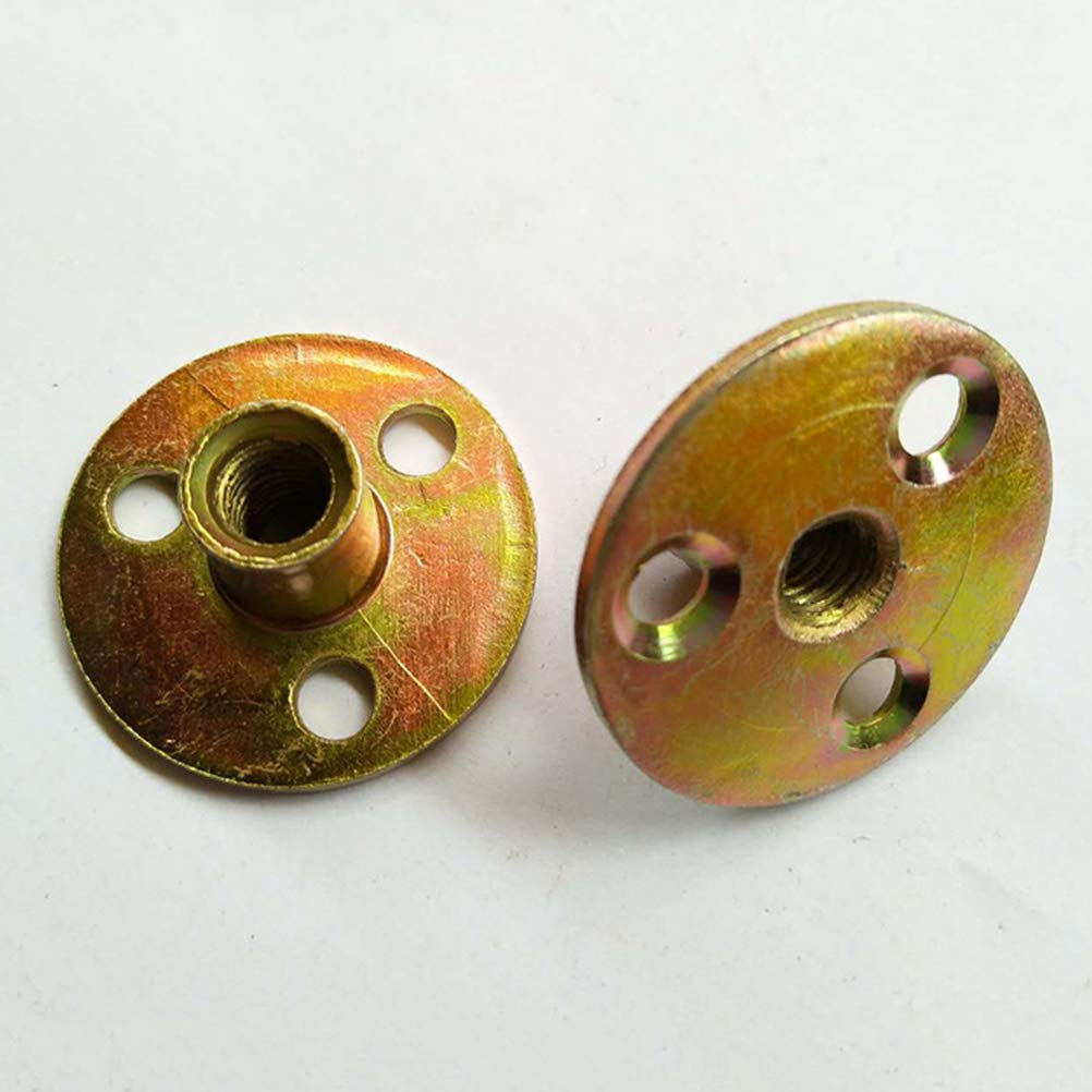 M8 Tuercas de inserci/ón roscadas para Tuercas en T de Madera Tuercas de Tornillo 3 Tuercas de Remache Kit Yardwe Tuercas enroscables T de Metal 10PCS para Agarre de Escalada