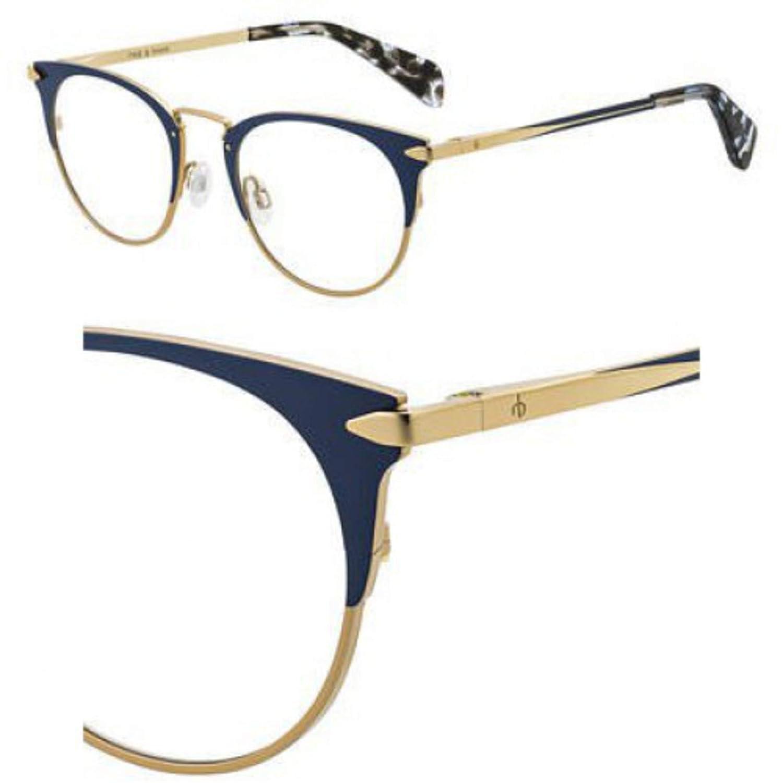 Eyeglasses Rag and Bone Rnb 3016 0NUC Blue Gold