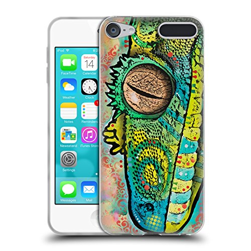 - Official Dean Russo Gecko Wildlife 3 Soft Gel Case for Apple iPod Touch 6G 6th Gen